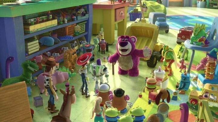 Why Do The Toys In Toy Story Freeze